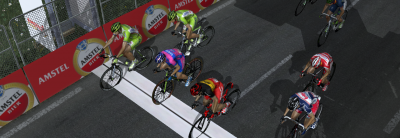 Close finish on the Cauberg